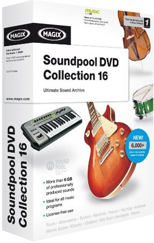 Magix Soundpool DVD Collection 16 (PC DVD)