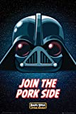 Empire 569974 Video Game Poster Angry Birds Star Wars Join the Pork Side 61 x 91.5 cm
