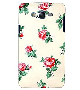 PrintDhaba Floral Pattern D-2342 Back Case Cover for SAMSUNG GALAXY J5 (Multi-Coloured)