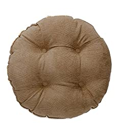Slip-Resistant Latex-Backed Microfiber Stool Cushion, in Bronze
