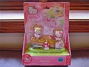 Sanrio Hello Kitty Staple Green Teeter-Totter Stapler