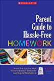 img - for Parent Guide to Hassle-Free Homework book / textbook / text book
