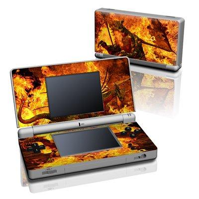 Fire Dragon Design Decorative Protector Skin Decal Sticker for Nintendo DS Lite