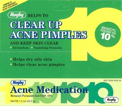 Rugby Acne Medication 10% 45gm