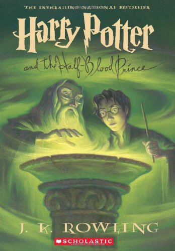 Cover of Harry Potter and the Half-Blood Prince (Book 6)