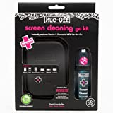 Muc-Off 996 Screen Cleaning Go Kit Including Microfibre Cloth + 35ml Device/Screen Cleaner
