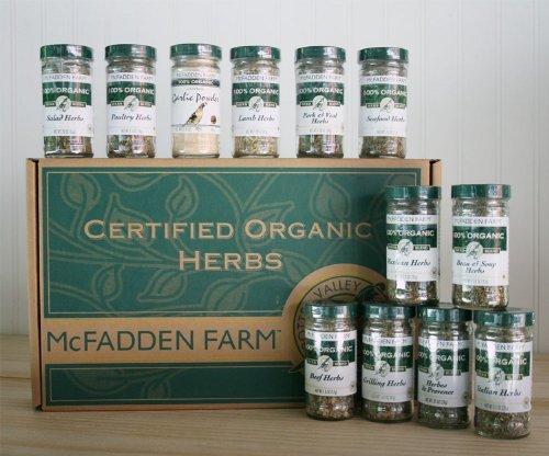 Organic Herb Blend Gift Box - Large
