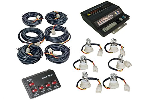 Frenzy2 6 Hideaway 90-Watt Power Supply And Six Bulb Strobe Light Kit