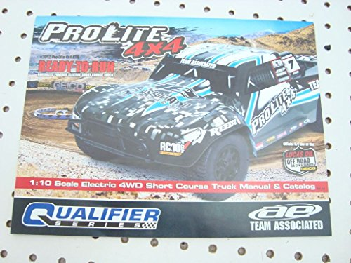 TEAM ASSOCIATED PROLITE 4X4 OWNERS MANUAL EXPLODED VIEWS PARTS LIST