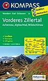Vorderes Zillertal /Achensee /Alpbachtal /Wildschönau: Wanderkarte mit Kurzführer, Panorama, Radwegen und alpinen Skirouten. GPS-genau. 1:50000