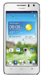 "Huawei Ascend G600 - Smartphone libre Android (pantalla táctil de 4,5"") color blanco [Importado de Alemania]"