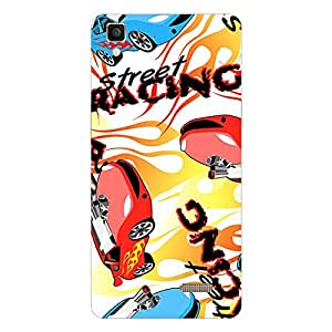 Garmor Designer Silicone Back Cover For Panasonic Eluga Turbo