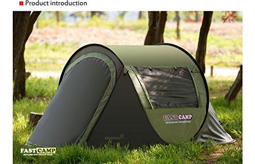 ファストキャンプ 3人用ポップアップテント