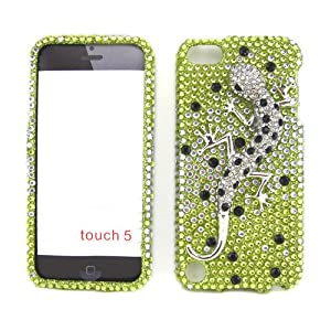 Apple iPod Touch 5 (5th Generation) Snap-on Protector Rhinestone Cover