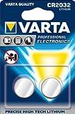 Varta Piles Électroniques CR 2032 x 2