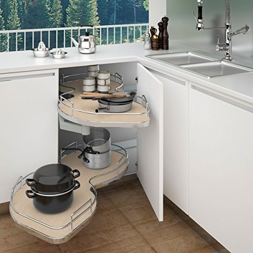 Rev-A-Shelf - 5372-50-MP-L  - Two-Tier Blind Corner Shelf (Left)