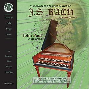 Complete Clavier Suites of J.S