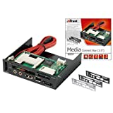 "Trust CR-3400 Lecteur de cartes 3.5"" Media Connect Baypar Trust"