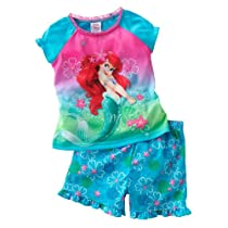 Disney Princess Ariel 2 Piece Pajama Set - Toddler Girls (2T)