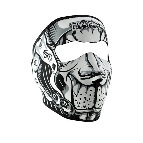 ZANheadgear Neoprene Lethal Threat Jester Face Mask