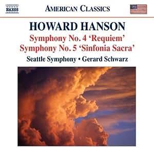 Hanson: Symphony No. 4/ Symphony No. 5 (Naxos: 8.559703)