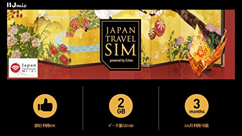 Japan Travel SIM powered by IIJmio (Micro SIM)