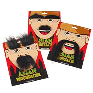 Asian Moustache Party Accessory