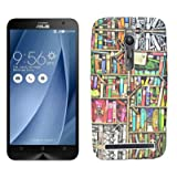 ECellStreet Exclusive Limited Edition Night Glow Super Radium Soft Back Case Cover Back Cover For Asus Zenfone...