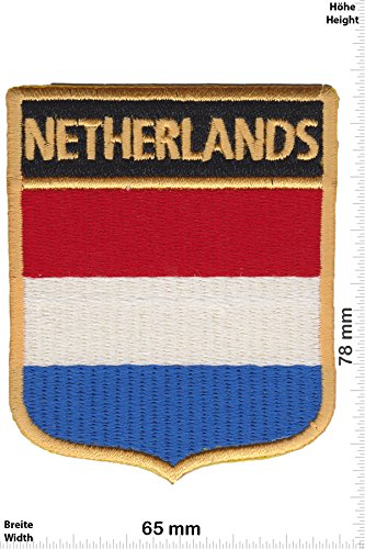 Patch - Norway - Coat of Arms - Flag - Paesi - Netherland - Netherland- toppa - applicazione - Ricamato termo-adesivo - Patch""