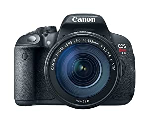 Canon EOS Rebel T5i 18.0 MP CMOS Digital SLR with 18-135mm EF-S IS STM Lens
