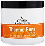 Thermo Pure - The Natural Fat Burner and Pre Workout Thermogenic, Naturally Flavored Proven Weight Loss Powder With Hoodia, Grape, 60 Servings