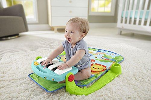 费雪钢琴健身架婴儿健身架脚踏钢琴宝宝健身架带音乐