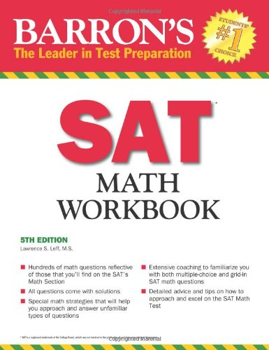 Barron's SAT Math Workbook Lawrence S. Leff Barron's Educational Series