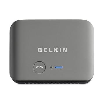 Belkin F9K1107 - Router (10, 100 Mbit/s, 10/100Base-T(X), 802.11n, 150 Mbit/s, Ethernet (RJ-45), IEEE 802.11n) Gris