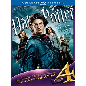 Blu-Ray:  Harry Potter & The Goblet of Fire [Ultimate Edition] (2005) (2010)