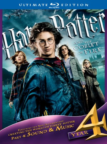 Cover art for  Harry Potter and the Goblet of Fire (Three-Disc Ultimate Edition) [Blu-ray]