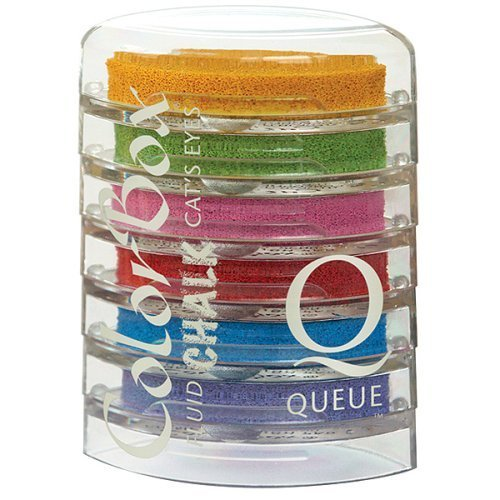 Chalk Cat's Eye Queue 6-Color Ink Pad Set - A