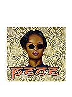 ARTE E TESSUTI by MANIFATTURE COTONIERE Panel Decorativo Pece_Glasses Amarillo/Multicolor
