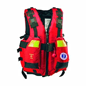 Amazon.com : Mustang Survival Swift Water Rescue Vest, Red, Medium