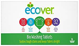 Ecover Laundry Tablets 32 Tablets (Pack of 5, Total 160 Tablets)