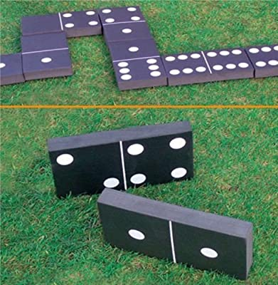 GIANT Dominoes Garden Patio Outdoor Game For Kids Children & Adults Summer Fun *** FANTASTIC SELLER ** SOFT FOAM ** FAMILY FUN **