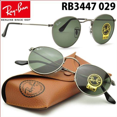 【レイバン国内正規品販売認定店】Ray-Ban(レイバン RayBan)サングラスRB3447 029 ROUND METAL(ラウンドメタル)