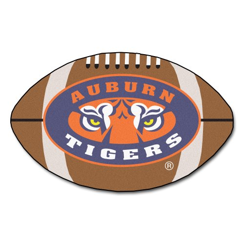 FANMATS NCAA Auburn University Tigers Nylon Face Football Rug at Amazon.com