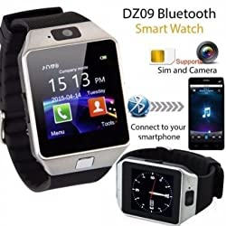 Evana (get free TTL/Trusttel Branded mobile pouch) Bluetooth Smart Watch Phone With Camera and Sim Card Support With Apps like Facebook and WhatsApp Touch Screen Multilanguage Android/IOS Mobile Phone Wrist Watch Phone with activity trackers and fitness band features compatible with Samsung IPhone HTC Moto Intex Vivo Mi One Plus and many others! Launch Offer!!