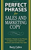 Perfect Phrases for Sales and Marketing Copy (Perfect Phrases Series)
