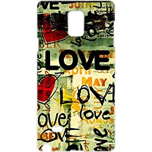 a AND b Designer Printed Mobile Back Cover / Back Case For Samsung Galaxy Note 3 (SG_N3_3D_436)