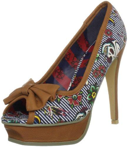 Iron Fist Filthy Landlubber IFLPLH0027 - Zapatos de lona para mujer, color beige, talla 40.5