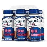 Ensure Plus Nutrition Shake, Milk Chocolate, 8-OZ (48 Count) , Ensure-j7et