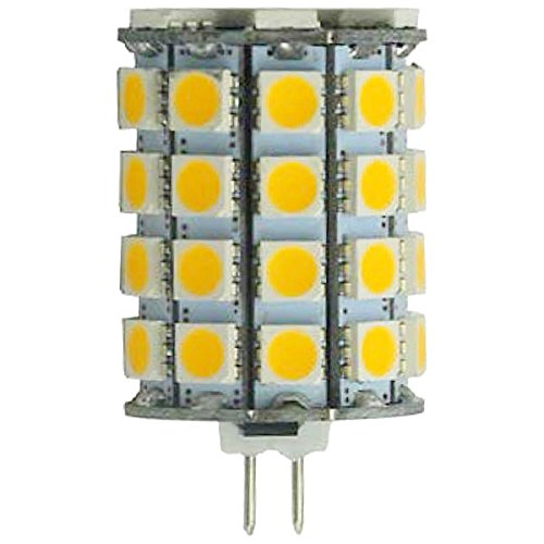 6 Watt - Dimmable Led - T2.75 - G4 Base - 3000K Halogen White - 550 Lumens - 50 Watt Halogen Equal - Plt