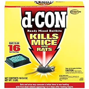 D Con Rodenticide Ready Mixed Baitbits